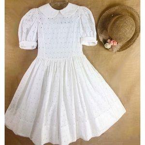 Vtg Isabel Garreton Communion/flower girl Dress